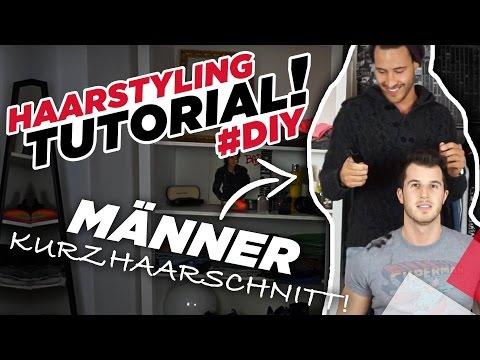 Haarstyling Tutorial DIY - Männer Kurzhaarschnitt