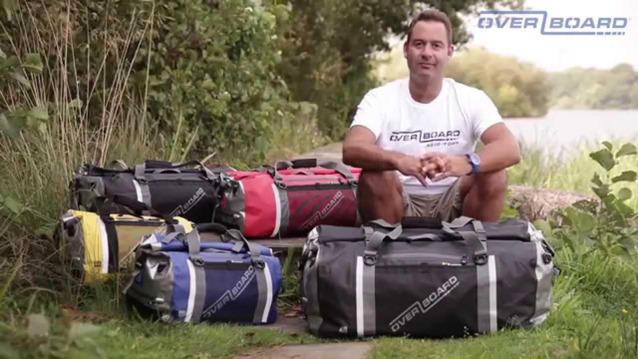 526d50428e37 Pro-Sports Waterproof Duffel Bags - Waterproof Holdalls - Waterproof Bags -  OverBoard - YouTube