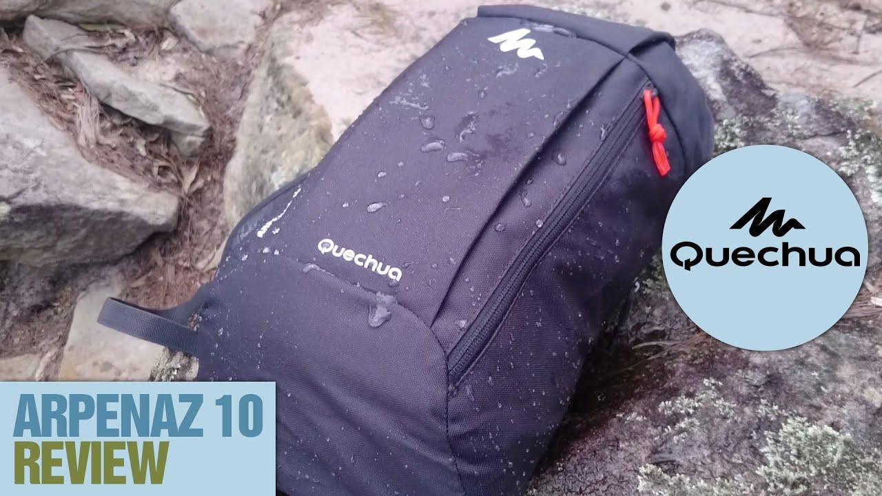 8e6cd159a72c3 Quechua Arpenaz 10L Backpack Review