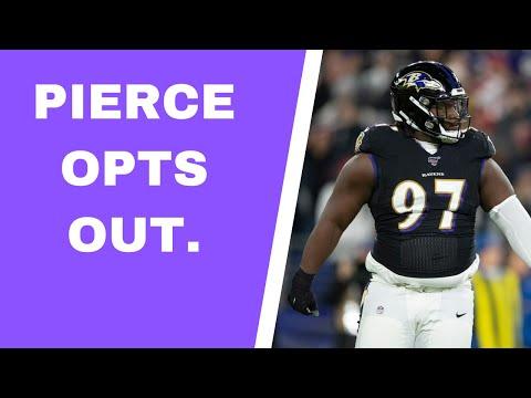 Vikings' Michael Pierce opts out of 2020 NFL season