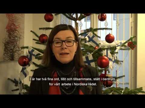 Britt Lundberg julehilsen