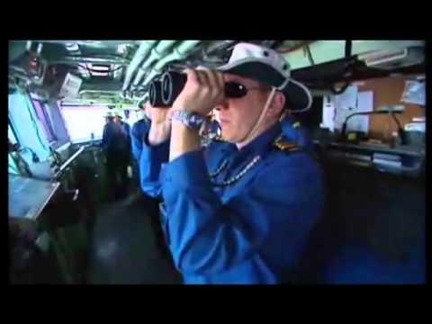 Inside HMCS Charlottetown (FFH 339) - Halifax-Class Frigate