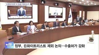 백브리핑 다시보기  정부 '日 수출 우대국 제외' 논의…