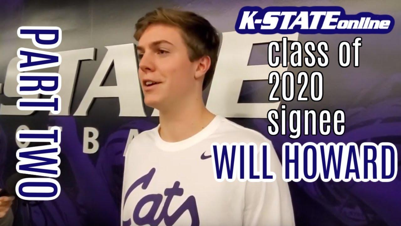 Kansas State Wildcats football: QB Will Howard Interview Part II - YouTube