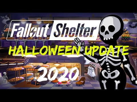 Fallout Shelter 2020 Halloween HALLOWEEN event Fallout Shelter 2020 update.   YouTube