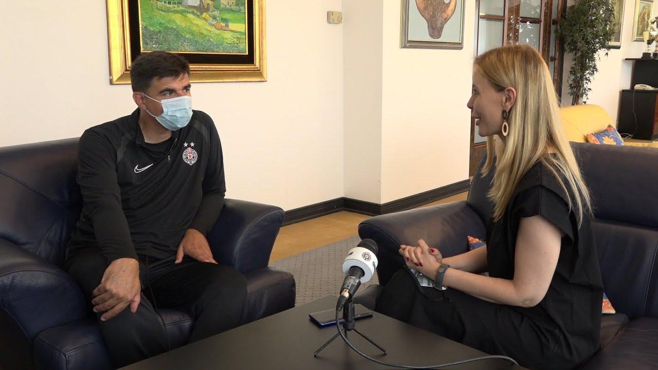 Intervju sa novim članom stručnog štaba FK Partizan g.Radovanom Ćurčićem