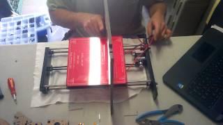 geeetech prusa i3 pro b 3d printer assembly video step 8 ish 9 10