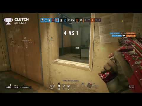 Platinum 1v5 Ace And Clutches// Rainbow Six Siege
