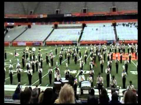 2007 Kingston High School Marching Band at the Carrier Dome
