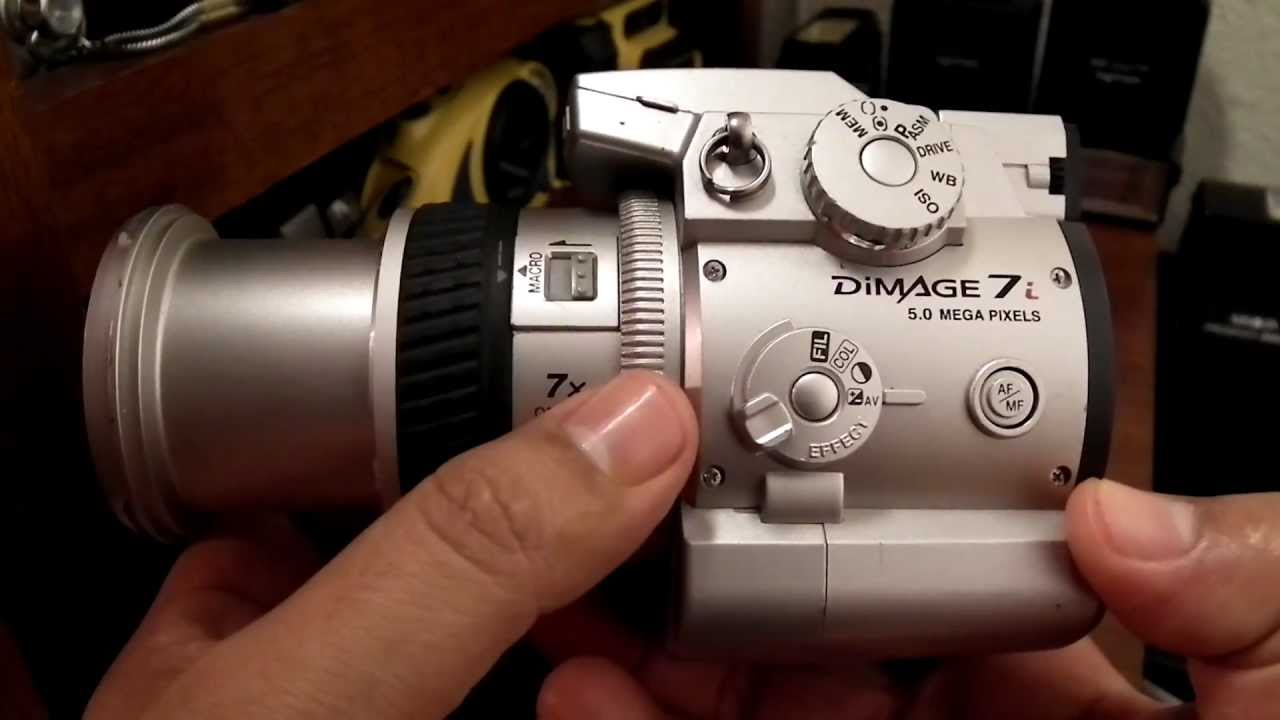 minolta dimage 7i digital aqp pe s collection youtube rh youtube com dimage 7 manual dimage 7i review