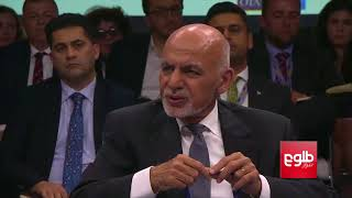 Ghani Welcomes NATO's Support To Afghan Peace Process