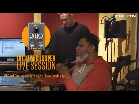 Drake, Nas & Pink producers - LIVE track creation with Ditto Mic Looper