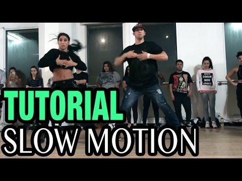 SLOW MOTION - Trey Songz Dance TUTORIAL   @MattSteffanina Choreography