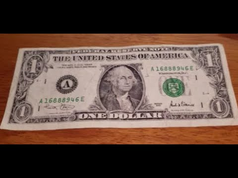SHIFTED TREASURY SEAL $1 BILL Searching Pocket Money For Rare Banknotes