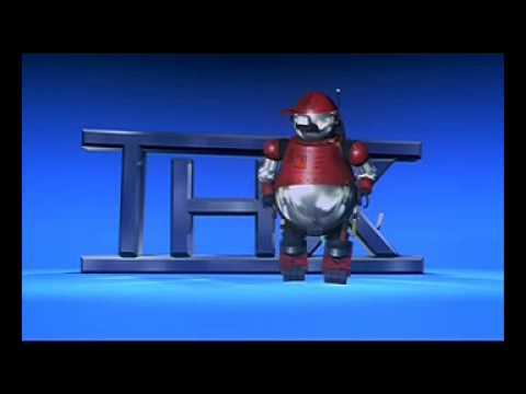 Pixar Thx Robot Youtube