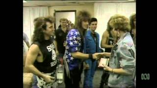 Countdown (Australia)- Bon Jovi Behind The Scenes Segment- June 14, 1987