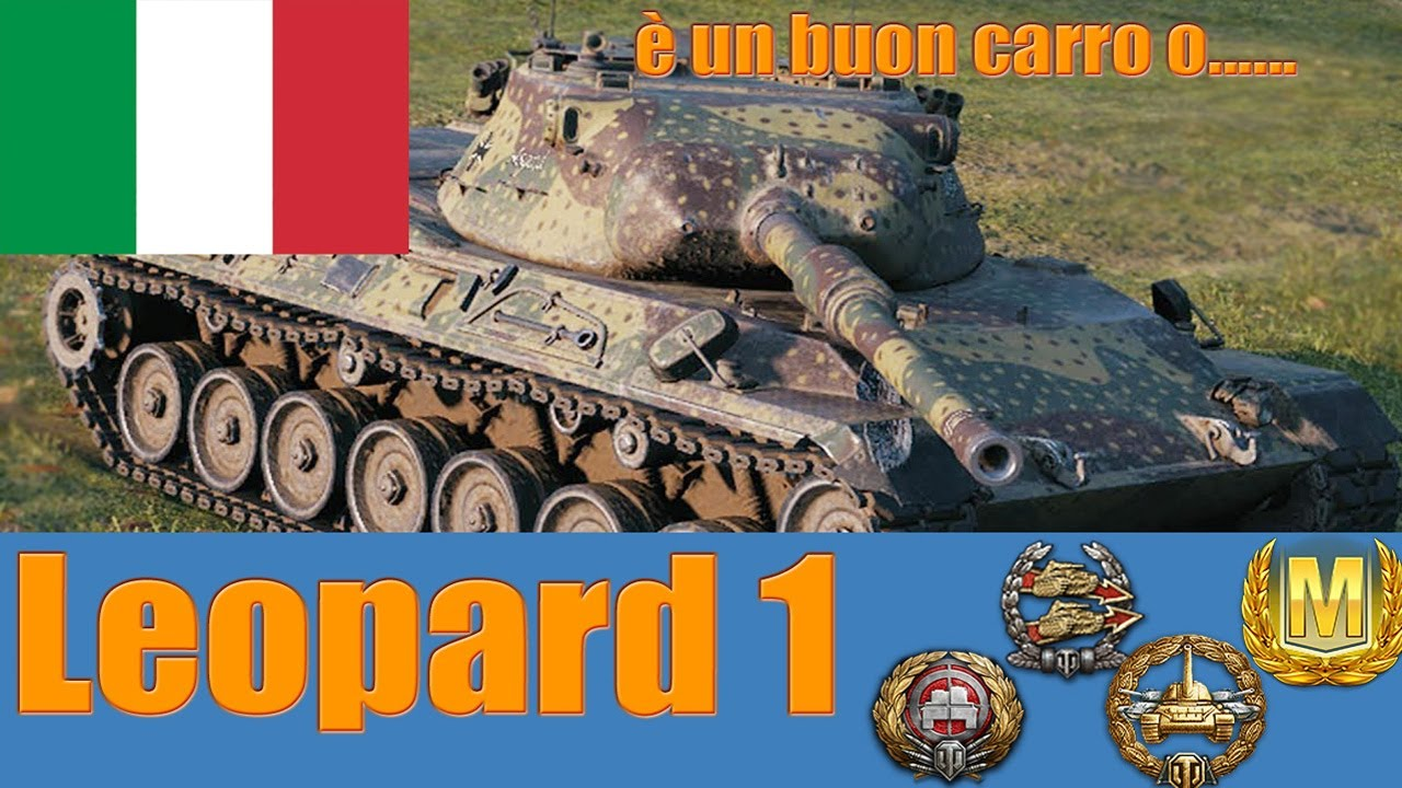 World of Tanks Leopard 1 Review ITA - YouTube