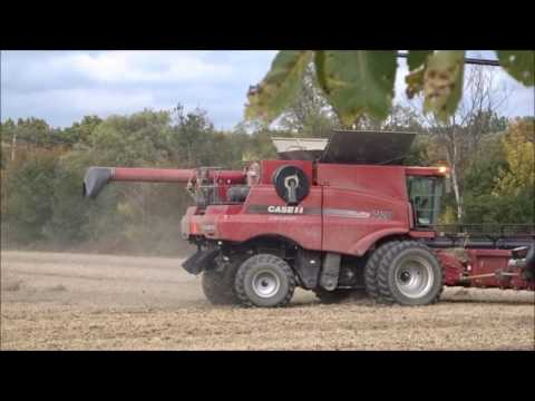 Case IH 7120 Combine in Pittsfield Charter Township, Michigan
