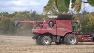 case ih 7120 combine in pittsfield charter township michigan