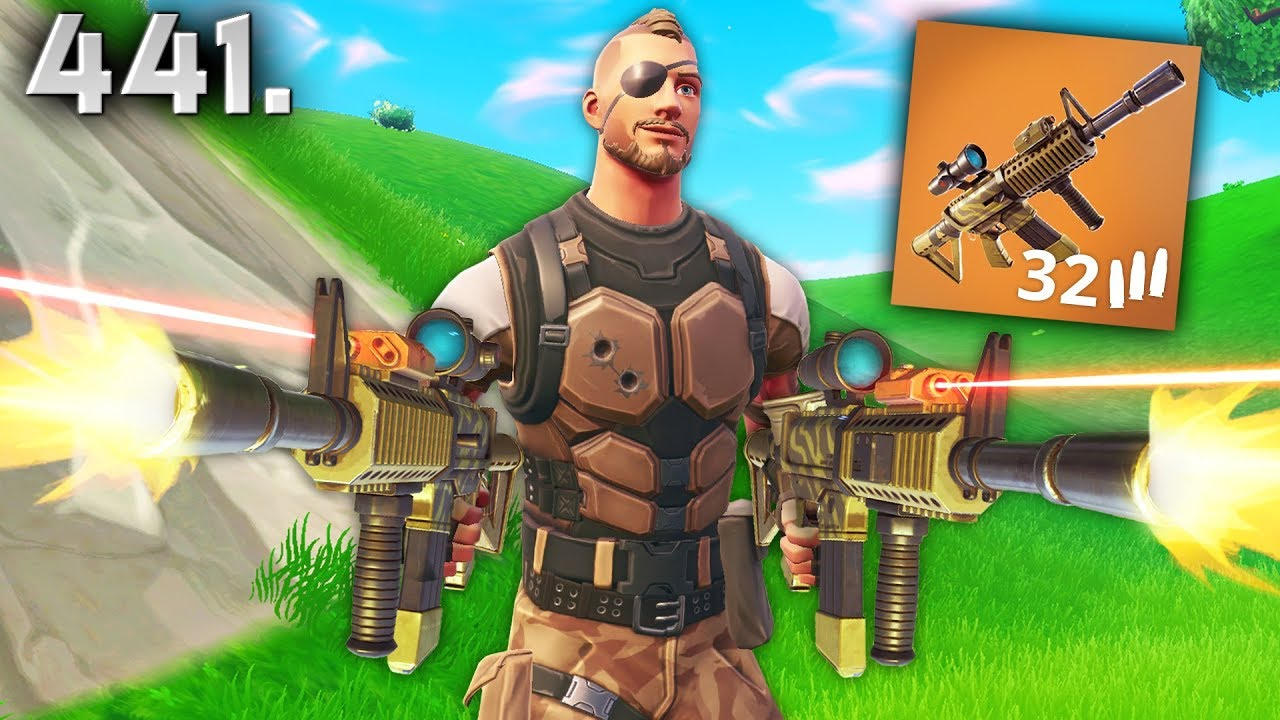 *NEW* GUN IS CRAZY..!!! Fortnite Daily Best Moments Ep.441 (Fortnite Battle Royale Funny Moments)