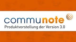 Produktvorstellung Communote 3 0