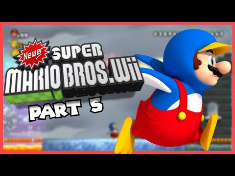 Playing Some More Newer Super Mario Bros. Wii!