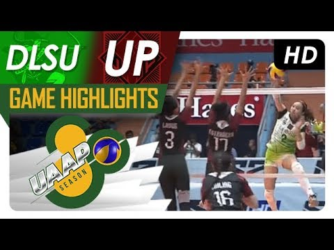 UAAP 80 WV: DLSU vs. UP | Game Highlights | March 14, 2018