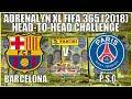 BARCELONA v PSG | Panini Adrenalyn XL FIFA 365 2018 Trading Cards | HEAD-TO-HEAD CHALLENGE!