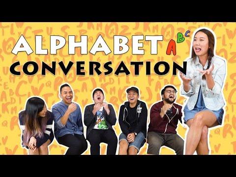 TSL Plays: Alphabet Conversation