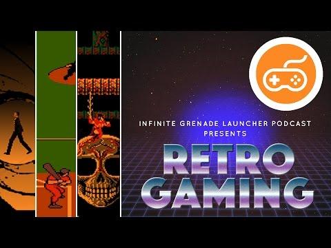 RETRO GAMING | GoldenEye, SNK Baseball Stars 2 | Infinite Grenade Launcher Video Podcast