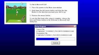 Microsoft Golf 1992 Setup