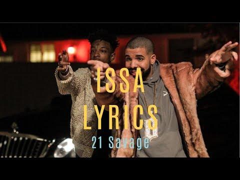 Issa - 21 Savage ft. Drake & Young Thug(Lyrics)