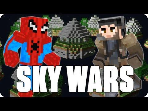 Spiderman contra el mundo sky wars minecraft youtube - Decoraciones para minecraft sin mods ...