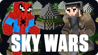 ¡SPIDERMAN CONTRA EL MUNDO! Sky Wars | Minecraft