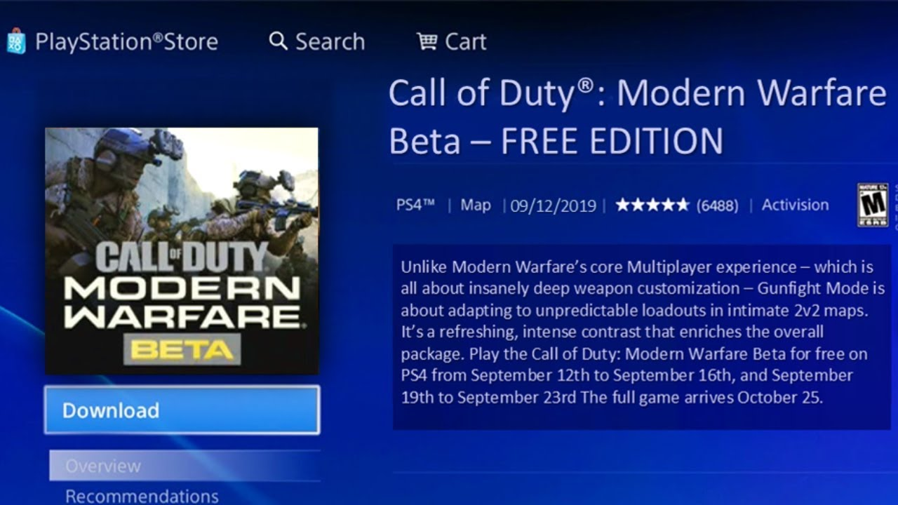 How To Download Modern Warfare Beta For Free No Code Needed How