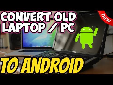 🔴CONVERT OLD LAPTOP / PC TO RUN ANDROID OREO EASY GUIDE 2019
