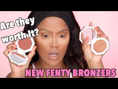 NEW FENTY BEAUTY BRONZER REVIEW | MAKEUPSHAYLA
