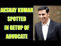 Akshay Kumar spotted in Lawyer suit during Jolly LLB 2 promotions; Watch video | FilmiBeat