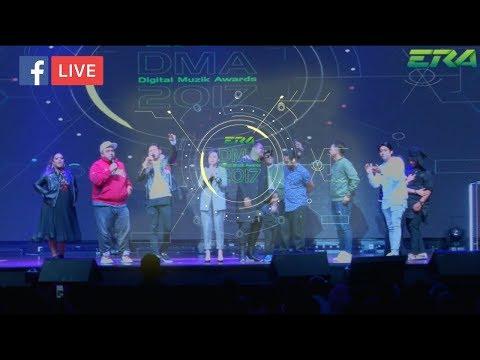#ERADMA17 - (FULL HD) FB Live ERA Digital Muzik Awards 2017