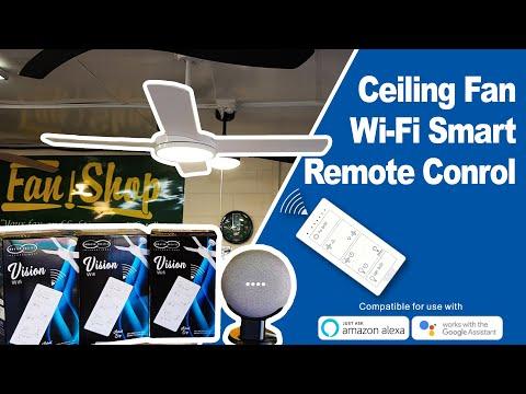 hunter-pacific-vision-smart-wifi-ceiling-fan-remote-demo