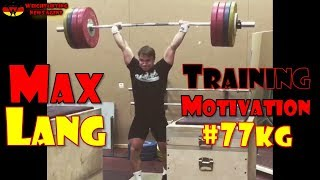 Video Max Lang (GER, 77KG)   Olympic Weightlifting Training   Motivation download MP3, 3GP, MP4, WEBM, AVI, FLV September 2017