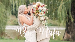 BRI + RAFA│A Beautiful Fall Rustic Wedding