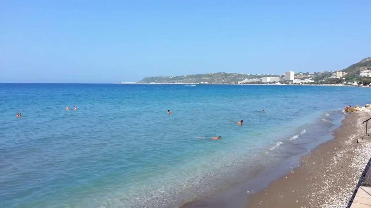 Beach Avra Beach Resort Youtube