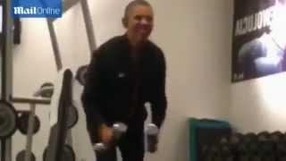 Как тренируется Обама и Путин