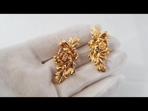 Обзор ювелирного украшения Repossi Neree серьги, розовое золото, оригинал