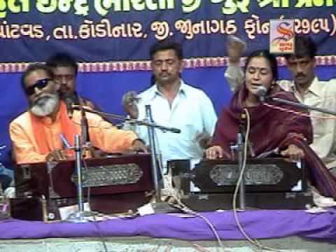 Lalita Ghodadra - Laxman Barot - Jugalbandhi - 1 - Shri Rudreshwar Jagir Bharti Ashram Live