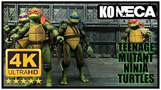 Teenage Mutant Ninja TURTLES 90s Movie SDCC 4 pack NECA Factory Seconds / Knock Off