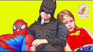 Little Superhero Kids 14 - Sick Supers and The Doctor