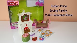 Fisher-price Loving Family 2-in-1 Seasonal Room Doll Furniture