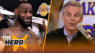 Colin Cowherd: 'The Lakers needed LeBron more than LeBron needed the Lakers'   NBA   THE HERD